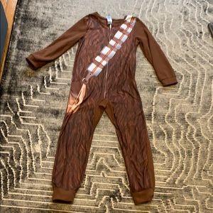 Chewbacca fleece zip PJ